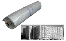 20' x 100' Reinforced Heavy Duty Poly Sheets