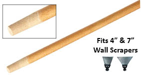 "72"" Tapered Wood handle"