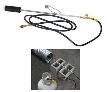 Hand Held Propane Torch